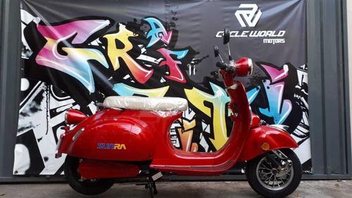 moto electrica sunra vespa litio 0km 3000w vintage