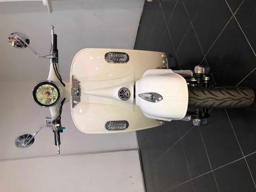 moto eléctrica sunra vespa litio - ecomove