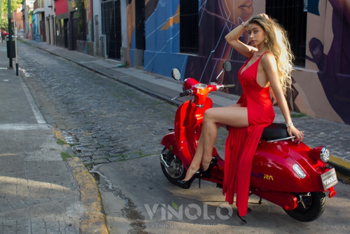 moto eléctrica sunra vintage bateria de litio  viñolo  /e