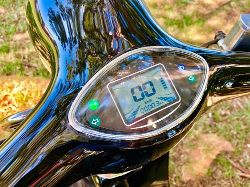 moto electrica sunra vintage - vehiculos electricos