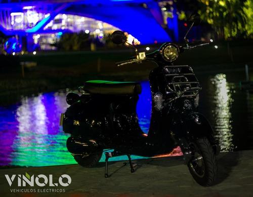 moto eléctrica sunra vintage viñolo vehículos eléctricos /a