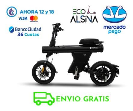 moto electrica sunra zbot / no elpra  new 2020 - eco alsina