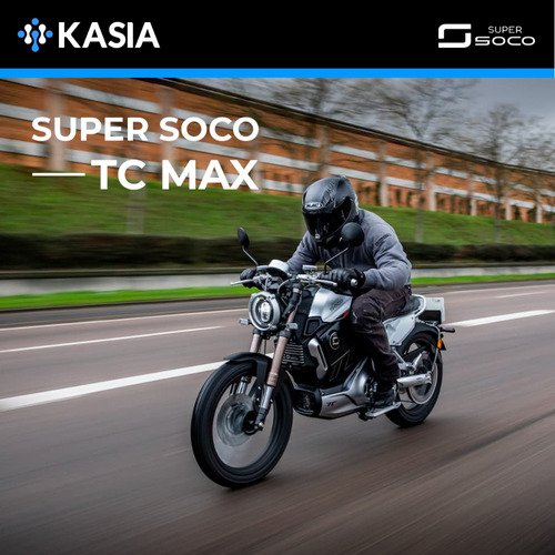 moto electrica super soco tc max bateria panasonic
