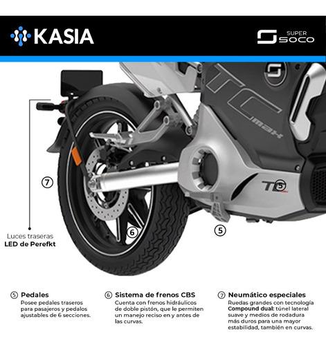 moto electrica super soco tc max bateria samsung kasia