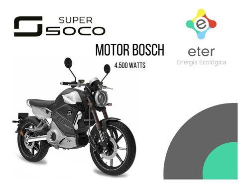 moto eléctrica super soco tc max tienda oficial pilar norte