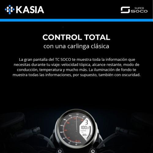 moto electrica super soco tc max version nueva bosch