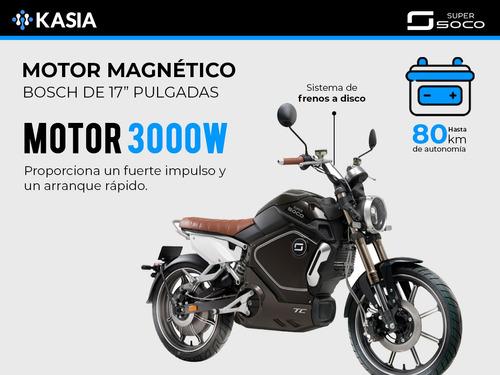 moto electrica super soco tc scooter version internacional