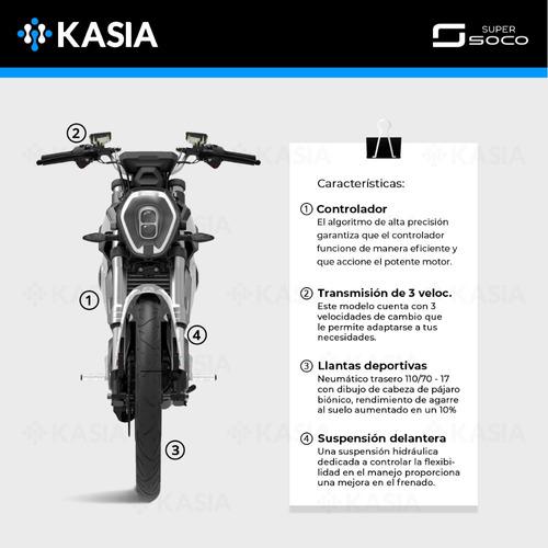 moto electrica super soco ts certificacion europea