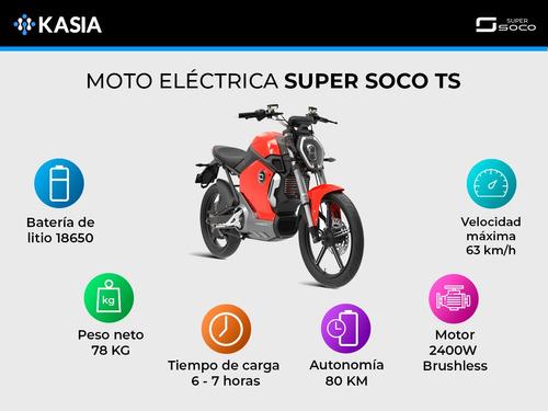 moto electrica super soco ts scooter motor bosch 2400w