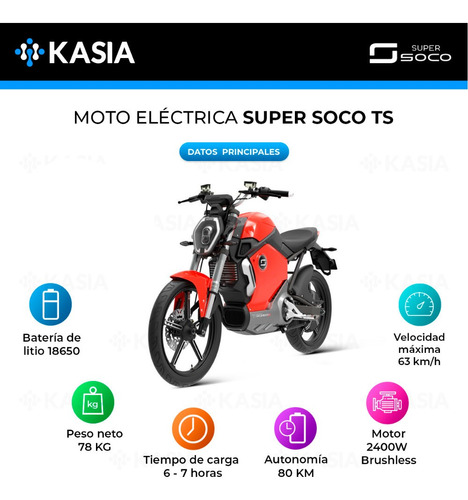 moto electrica super soco ts scooter original bosch