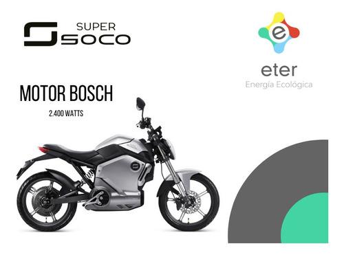 moto eléctrica super soco ts tienda oficial pilar