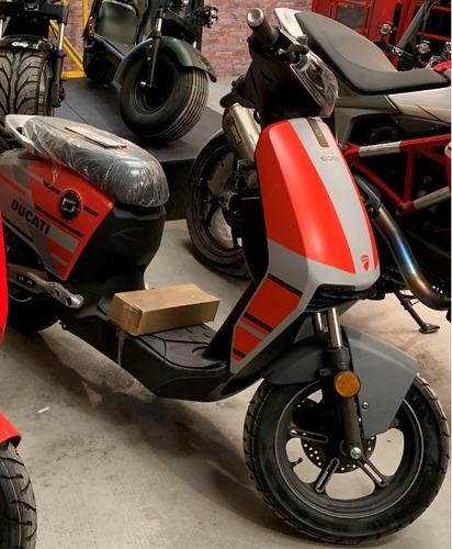 moto electrica supersoco cux ducati kasia 2788w usada 3000km