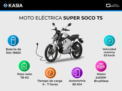 moto electrica supersoco ts kasia 2400w no sunra no nuuv