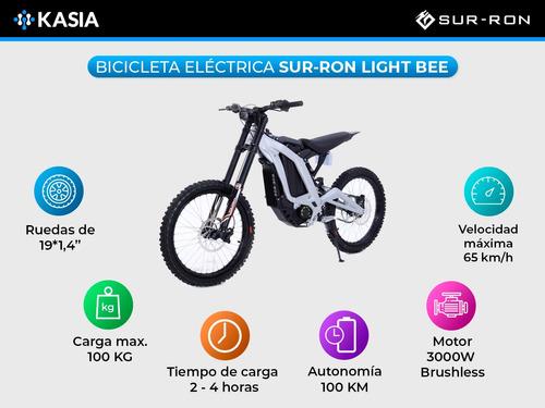 moto electrica sur ron light bee certificado europeo