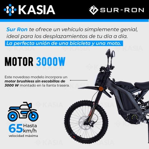 moto electrica surron light bee l1e 5000w 32ah