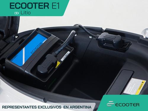 moto electrica tablero led motor 3kw. reversa alarma ecooter