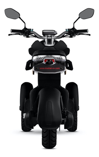 moto electrica todoterreno itank evi3  70   doohan (negra)
