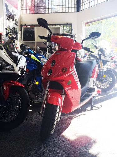 moto eléctrica veems emax scooter autonomía 80km