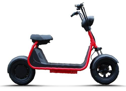 moto eléctrica veems scooter autonomía 70km recreativa
