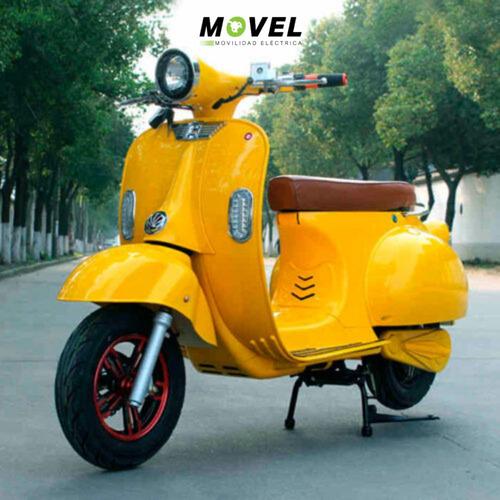 moto eléctrica vespa vintage 3000w batería litio sunra