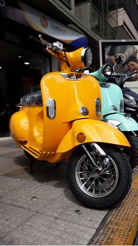 moto eléctrica vintage litio, plan gob 16% /e