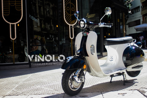 moto eléctrica vintage -  viñolo vehículos eléctricos /a