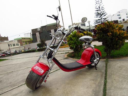 moto eléctrica zero luxury