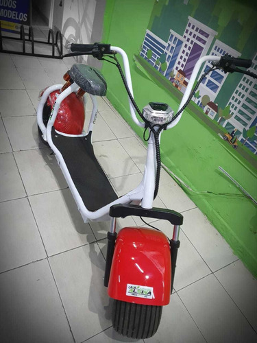 moto eléctrico city coco scooter - ahora 12 cuotas s/interes