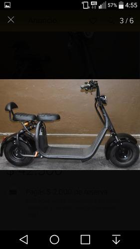 moto electrico scooter citycoco 2 plaza 1500w 2020 $89000