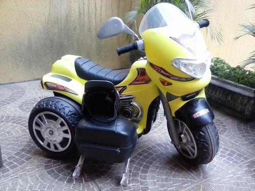 moto elétrica biemme sprint tubo amarela  valor 500,00 reais