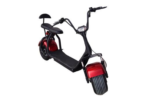 moto elétrica estilo harley scooter bike vermelho novo 82517