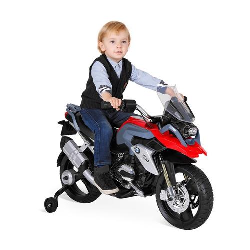 moto elétrica infantil bmw gs vermelha el 12v