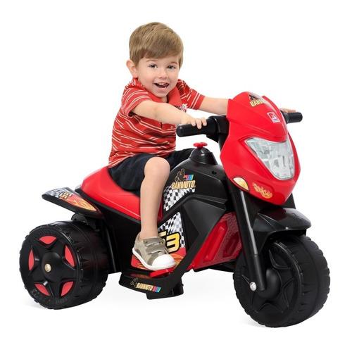 moto elétrica infantil menino brinquedos bandeirante c/ nfe