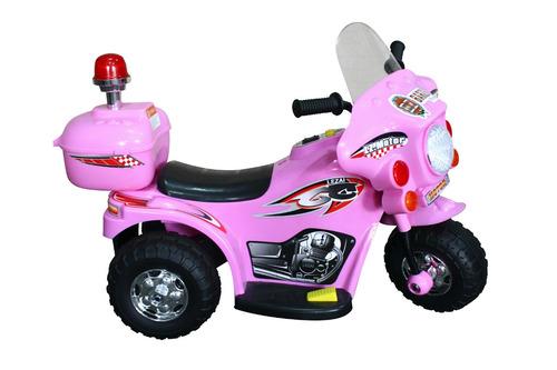moto elétrica infantil para criança de 2 a 4 anos rosa