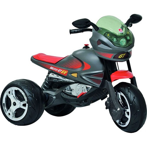 moto elétrica infantil super moto gp 6v grafite bandeirante