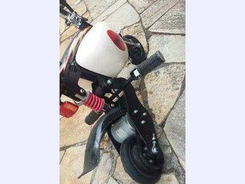 moto elétrica japonesa raridade com 2 baterias vendo barato