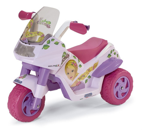 moto elétrica raider princess 6 volts - peg-pérego