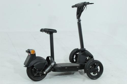 moto elétrica scooter cicloway c3 doohan preto 2019