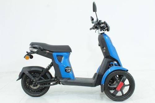moto elétrica scooter cicloway c5 doohan azul 2019