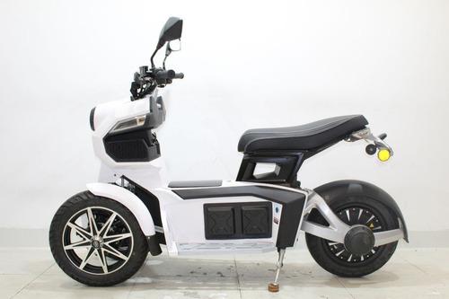moto elétrica scooter cicloway c7 doohan 2019 branca