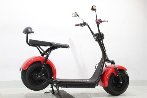 moto elétrica scooter voxel vx800 2019 vermelha