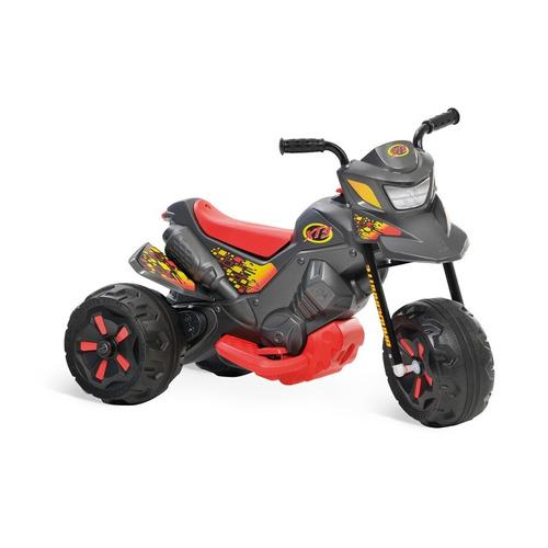 moto elétrica xt3 grafite 6v infantil menino bandeirante