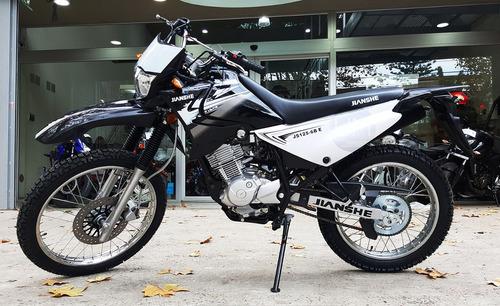 moto enduro calle jianshe 125 6b e  0km urquiza motos
