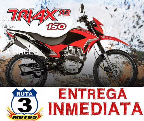 moto enduro corven triax 150 r3 2017 0km