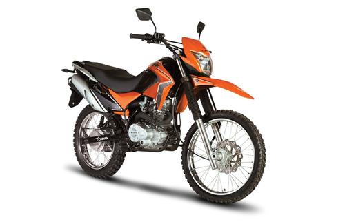 moto enduro corven triax 200 motos
