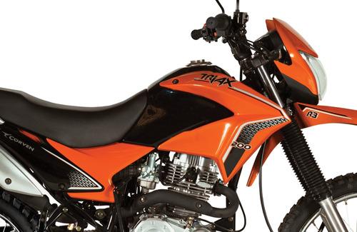 moto enduro corven triax 200 r3 0km skua zr v6 urquiza motos