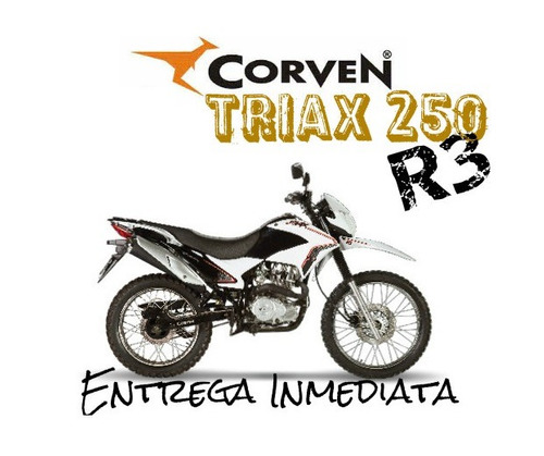 moto enduro corven triax 250 r3 0km 2019