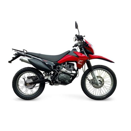 moto enduro cross zanella zr 150 lt 0km um
