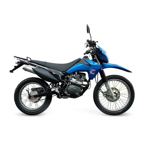 moto enduro cross zanella zr 150 lt 0km urquiza motos