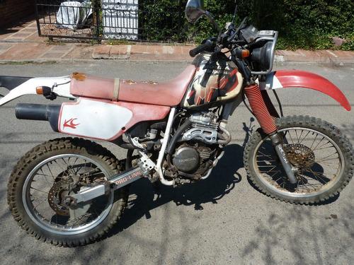 moto enduro honda japonesa xlr 250 doble foco
